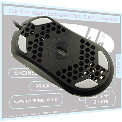 Buy Hyperglide Mouse Skates for Finalmouse Ultralight Pro