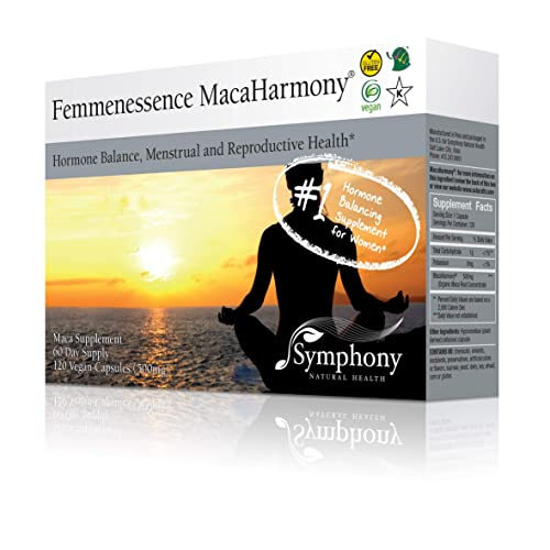 Femmenessence MacaHarmony - All Natural Gelatinized Maca Supplement to  Support Women's Hormone Balance, PMS, Acne & Healthy Skin, Regular  Menstrual